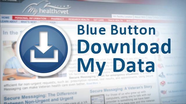 My HealtheVet - Blue Button
