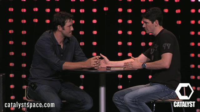 Tony Romo at Catalyst Dallas 2011| Matt Chandler