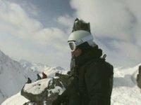 Avalanche Skier POV Helmet Cam Burial & Rescue in Haines, Alaska