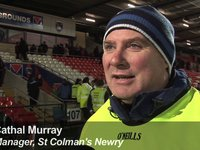 St Colman's v St Mary's - Interview