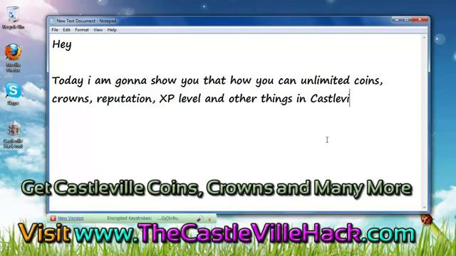 Castleville Energy Cheats