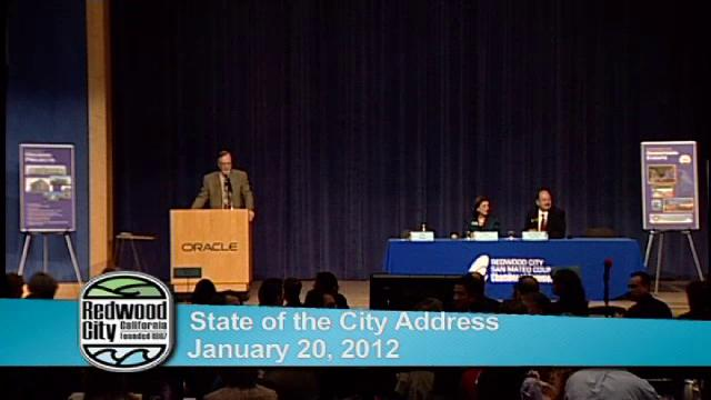Redwood City State of the City Address 2012