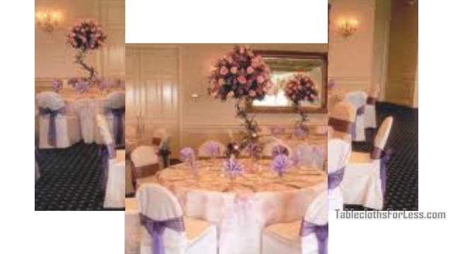 Wedding Table Linens Ideas