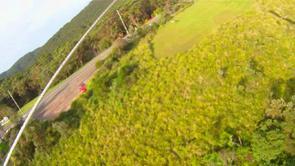 Top landing video