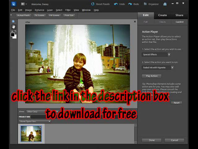 Adobe Photoshop Elements isn't quite the program Photoshop is, but it