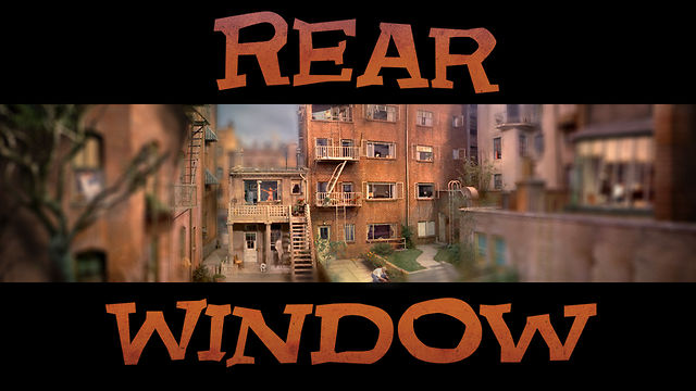 Thumbnail of video Rear Window Timelapse