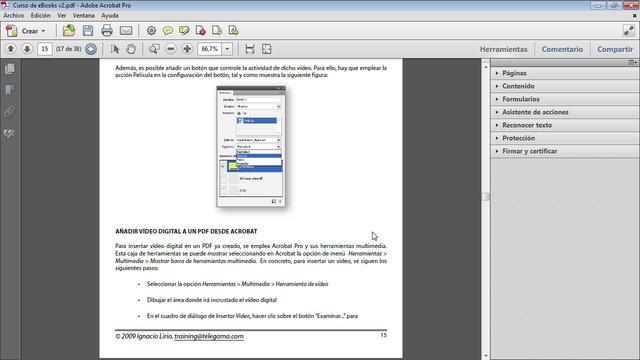 Adobe Acrobat - Añade música y audio a tus documentos PDF
