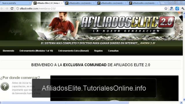 Afiliados Elite 2.0