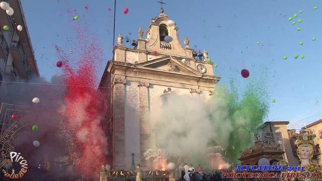 ACI CATENA (Catania) - Pirotecnica FIRESUD (2011)