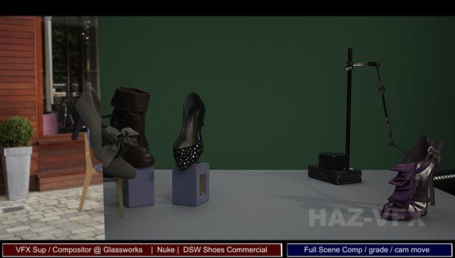 DSW Stop Motion VFX Shoes Commercial