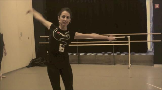 Not Even A Minute of Sassy Ballet with Nicole Graniero