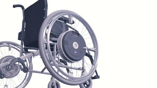 E motion fauteuil roulant lectrique on vimeo - Fauteuil roulant chenille ...