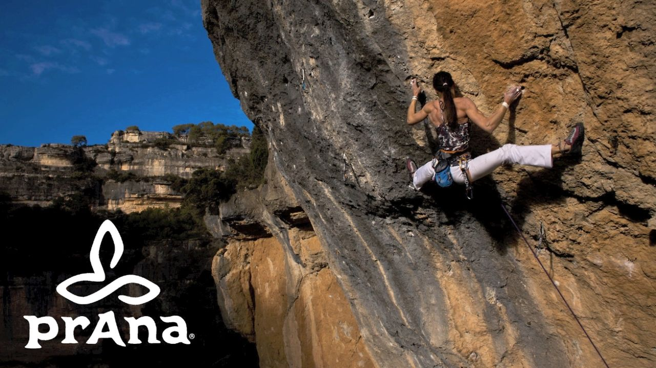 "Alizée Dufraisse - ""La Reina Mora"" 8c+/9a (first women ascent)."