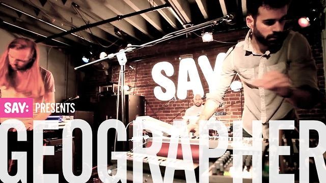 SAY Presents: Geographer