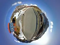 Take A Trippy Google Maps Road Trip Around This Tiny World