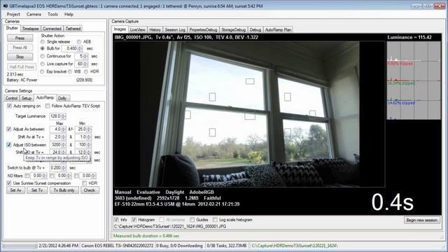 GBTimelapse full screenshot