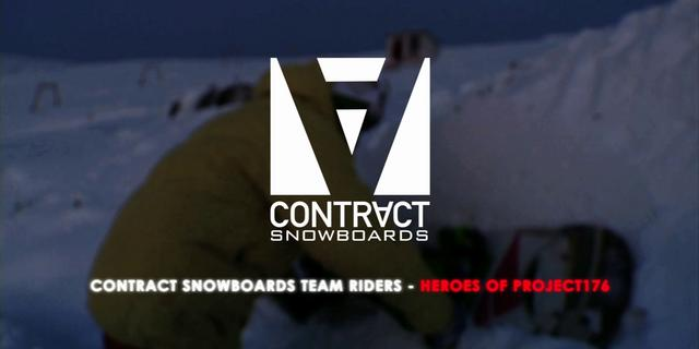 Contract Riders - Heros of Project 176