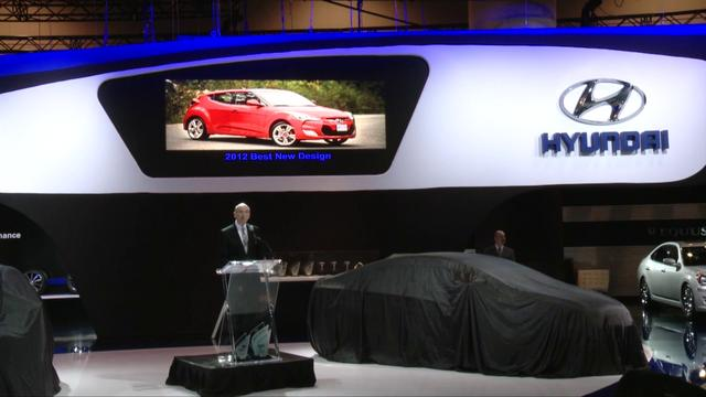 HYUNDAI Press Conference at Toronto AutoShow 2012