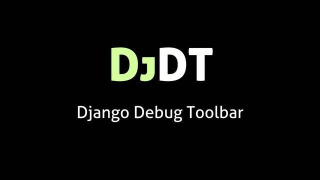 Django Debug Toolbar 0.8