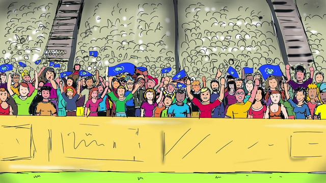 It's The Ball - Michel Montecrossa's Topical-Sportsmanship Song & Movie for UEFA Euro 2012