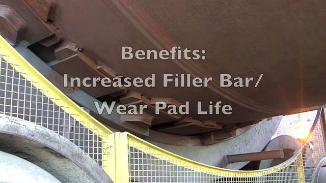 Easy Bar - Graphite Lubrication Bar for Rotary Kilns and Dryer