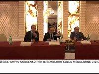 Ampio consenso per il seminario sulla mediazione civile