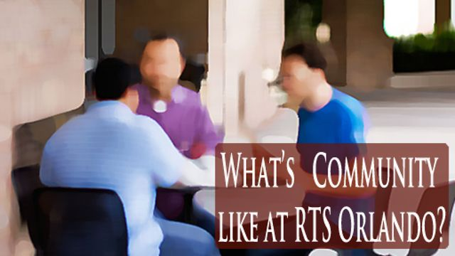 What&#039;s the community like at RTS Orlando?