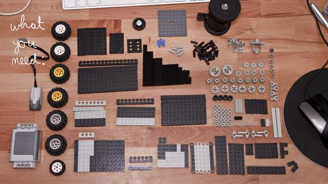 build that lego timelapse dolly