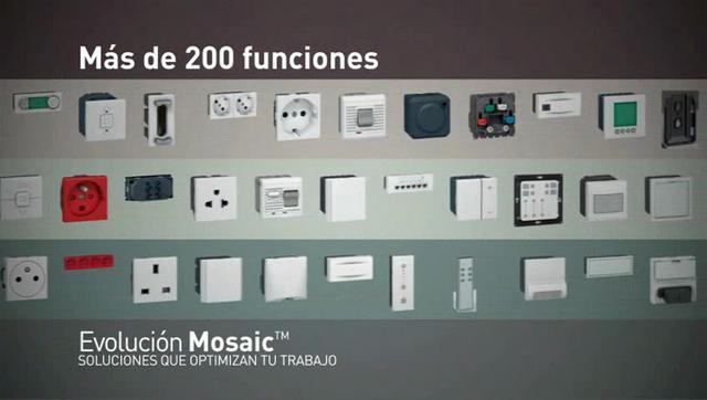 legrand gama mosaic on vimeo. Black Bedroom Furniture Sets. Home Design Ideas