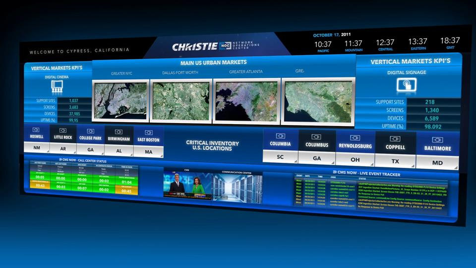 Christie Digital - Network Operations Center