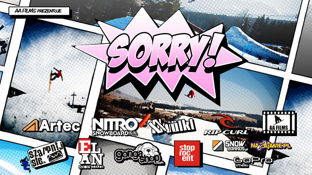 Sorry Snowboard Movie - Full HD