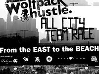 Wolfpack Hustle the All City Team Race
