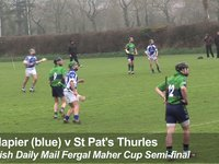 Napier College v St Pat's Thurles