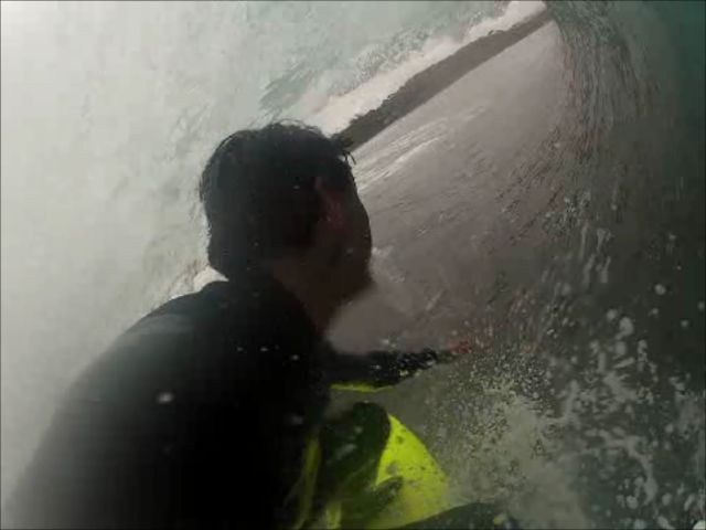 Fun Barrels With The GoPro