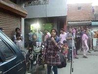 "Gospel Open air preaching by ""Evangelist Hemant & daughter Glory Daniels"" @ Majnu Tila Delhi (INDIA)"
