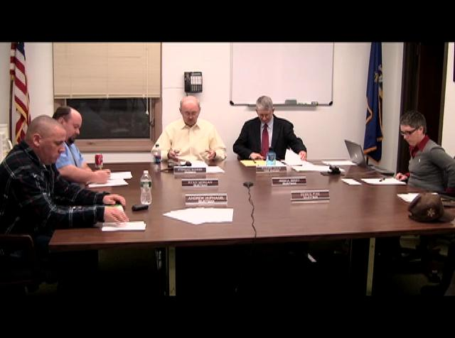 Farmington Selectmen -  February 28th, 2012