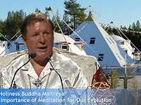 Buddha Maitreya - The Importance of Meditation for our Evolution