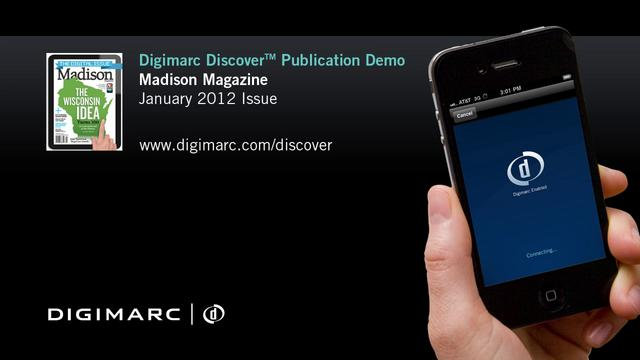 Madison Magazine (Jan 2012) - Digimarc Discover Publication Demo