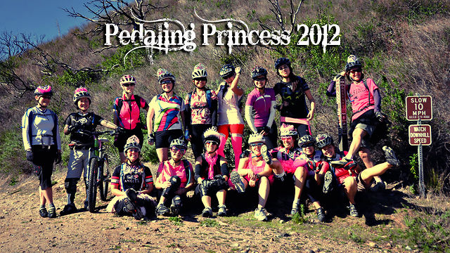 Pedaling Princess '12...Girls gone wild!  - The 3rd Semi-Annual Princess Ride led by women and structured for girl mountain bikers of all levels.  Filmed and Edited by Indy Isk. Music by Martin Solveig 