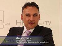 Goran Lalos: Flexibilisierung des Arbeitsmarktes mit Zeitarbeit