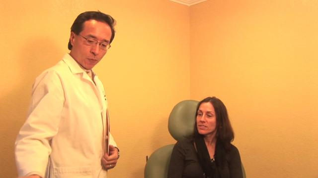 Dr. Tony Chu demonstrates Botox application