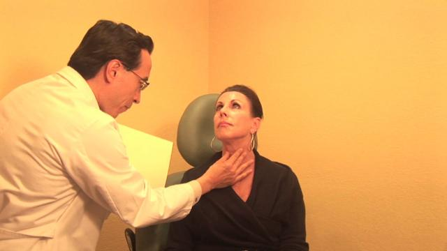 Dr. Chu consults and demonstrates filler procedure