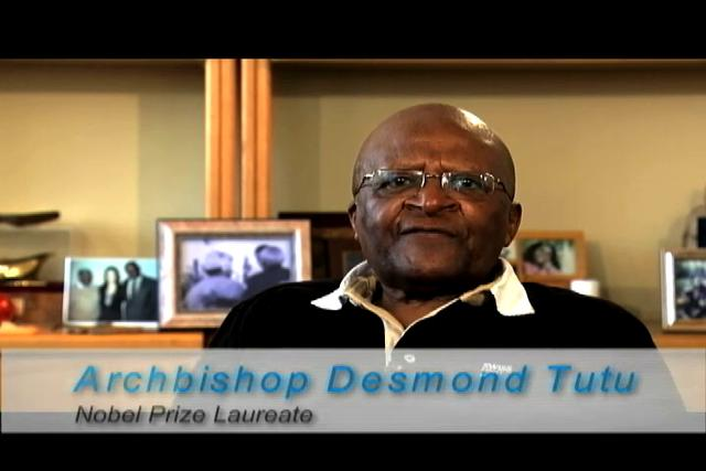 Special Messages from Archbishop Desmond Tutu and former Prime Minister Tony Blair