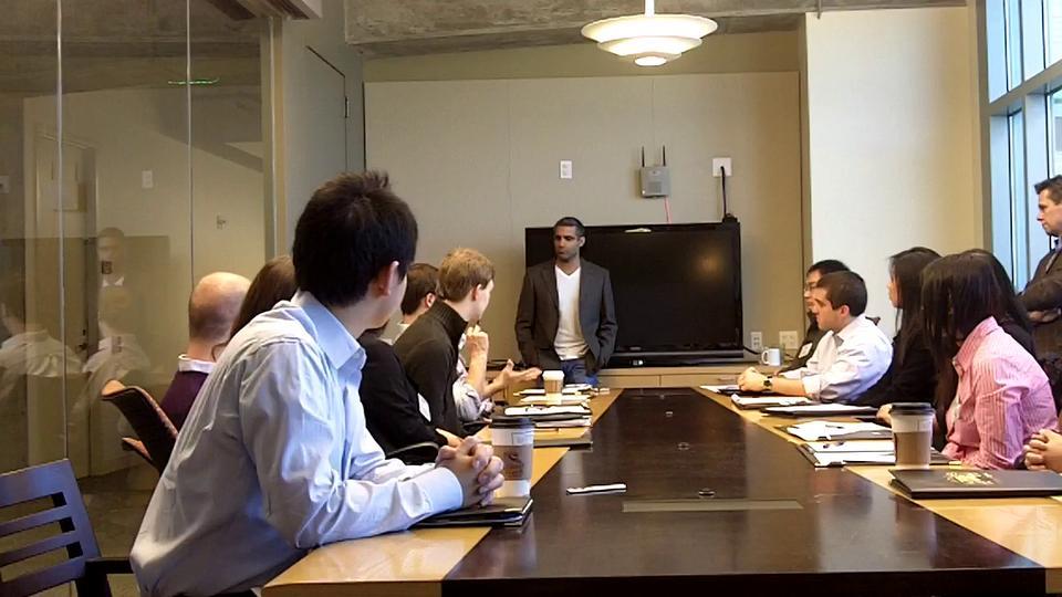 U.Va. McIntire Students at Socialize office in San Francisco