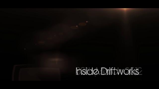 Inside Driftworks Trailer