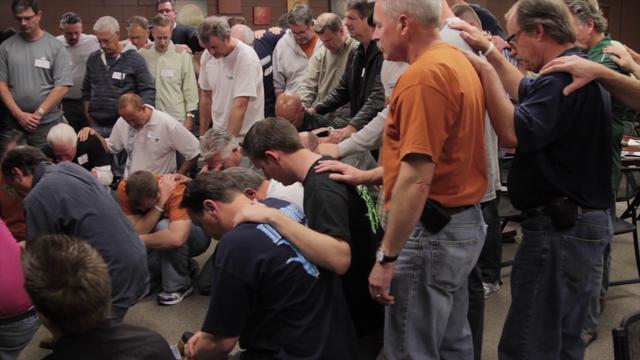 IRON MEN:  CHURCH AT RANCHO BERNARDO  MARCH 9-11