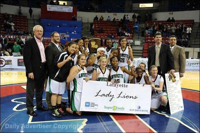 Lafayette High Lady Lions Basketball 2011-12