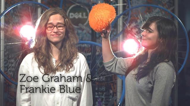 Zoe Graham & Frankie Blue