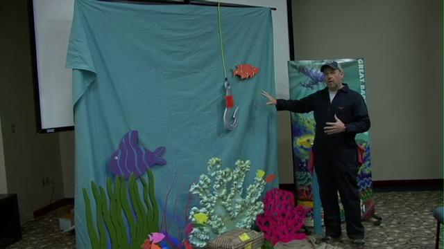 VBS Decorations 2012: The Great Barrier Reef