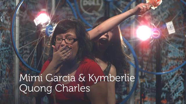 Mimi Garcia &amp; Kymberlie Quong Charles